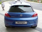 VW Scirocco III 1.4 TSI Rising Blue (rear view)