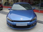 VW Scirocco III 1.4 TSI Rising Blue (front view)